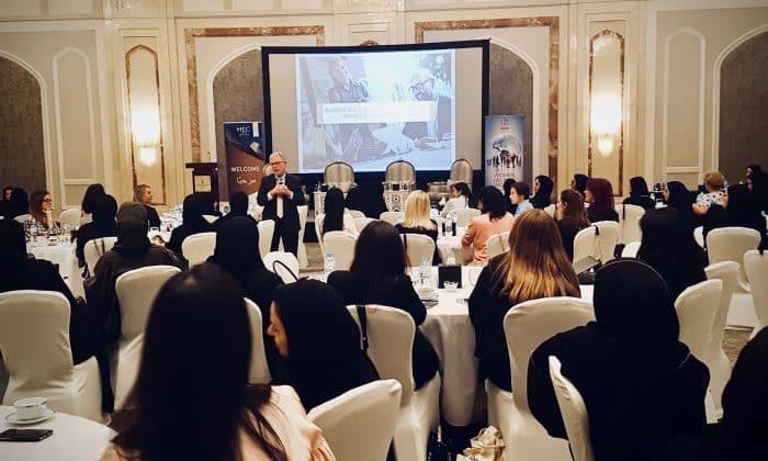Women Helping Women seminar in Doha